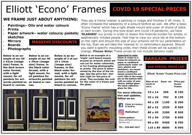 Elliott Econo Frames Advert- 200422